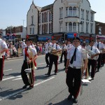 Brass band in the Carnival parade