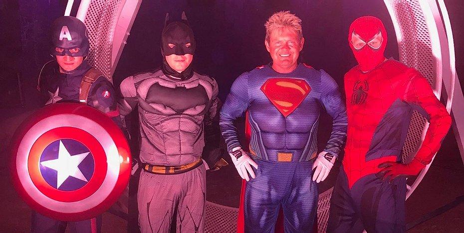the 4 Vander Superheroes